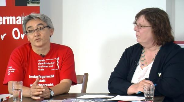 Schluss mit der Ökonomisierung des Gesundheitswesens! Mit Nadja Rakowitz und Pia Zimmermann